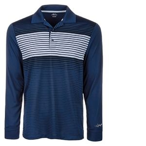 Attack Life by Greg Norman Mens Performance Polo